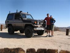 BJ70 in Anza Borrego
