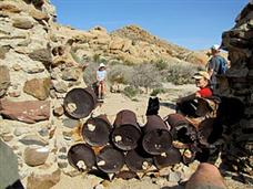 Journey to the Railroad Construction Camp in Anza Borrrego