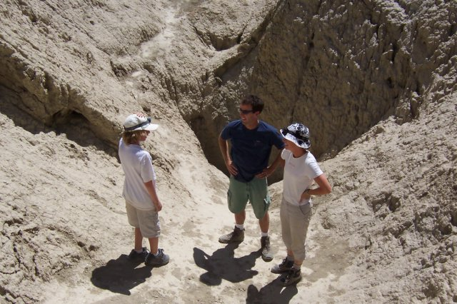 Anza Borrego Mud Caves